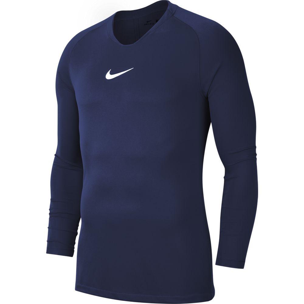 Nike Dri-FIT Park Ondershirt Lange Mouwen Kids Donkerblauw
