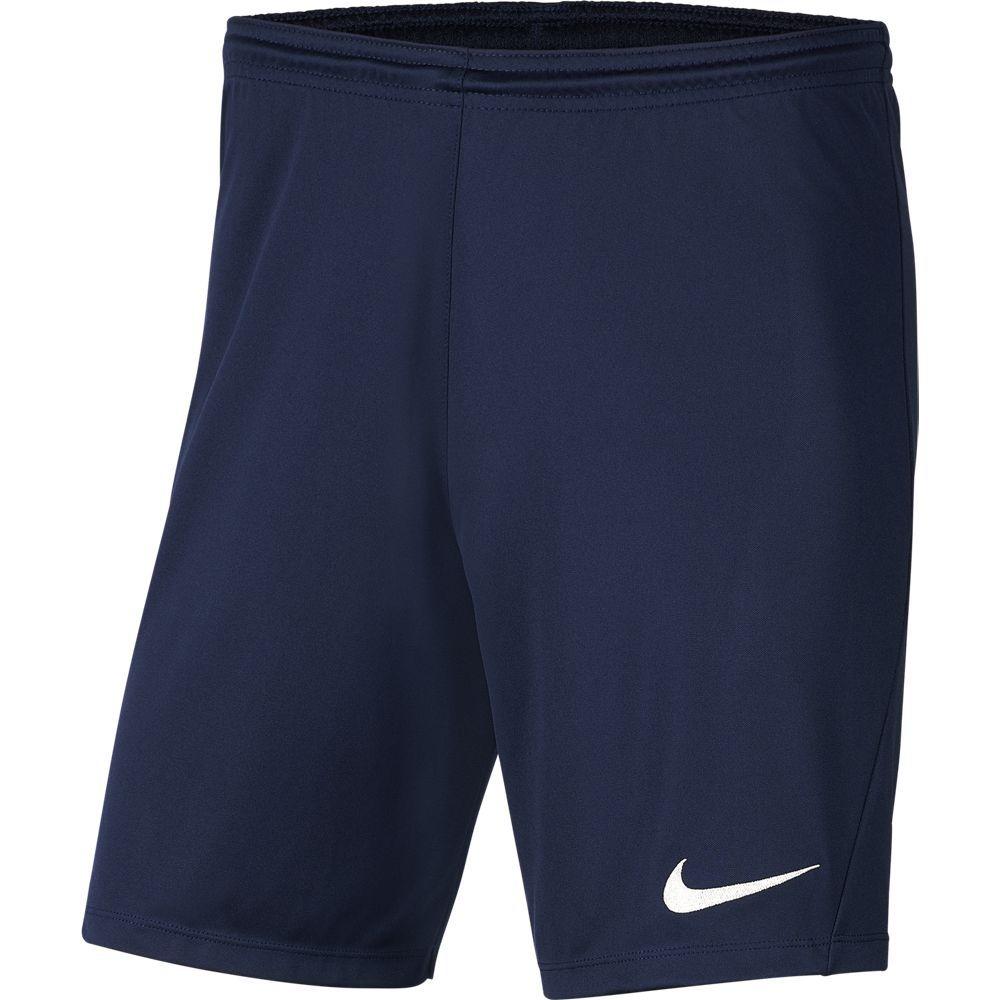 Nike Dry Park III Voetbalbroekje Donkerblauw