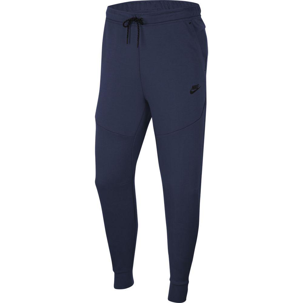 Nike Tech Fleece Jogger Trainingsbroek Donkerblauw Zwart