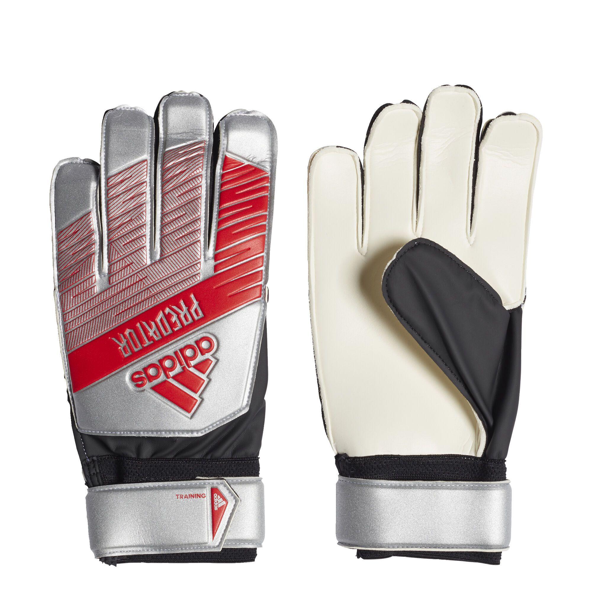adidas PREDATOR TRN Keepershandschoenen Zilver Zwart