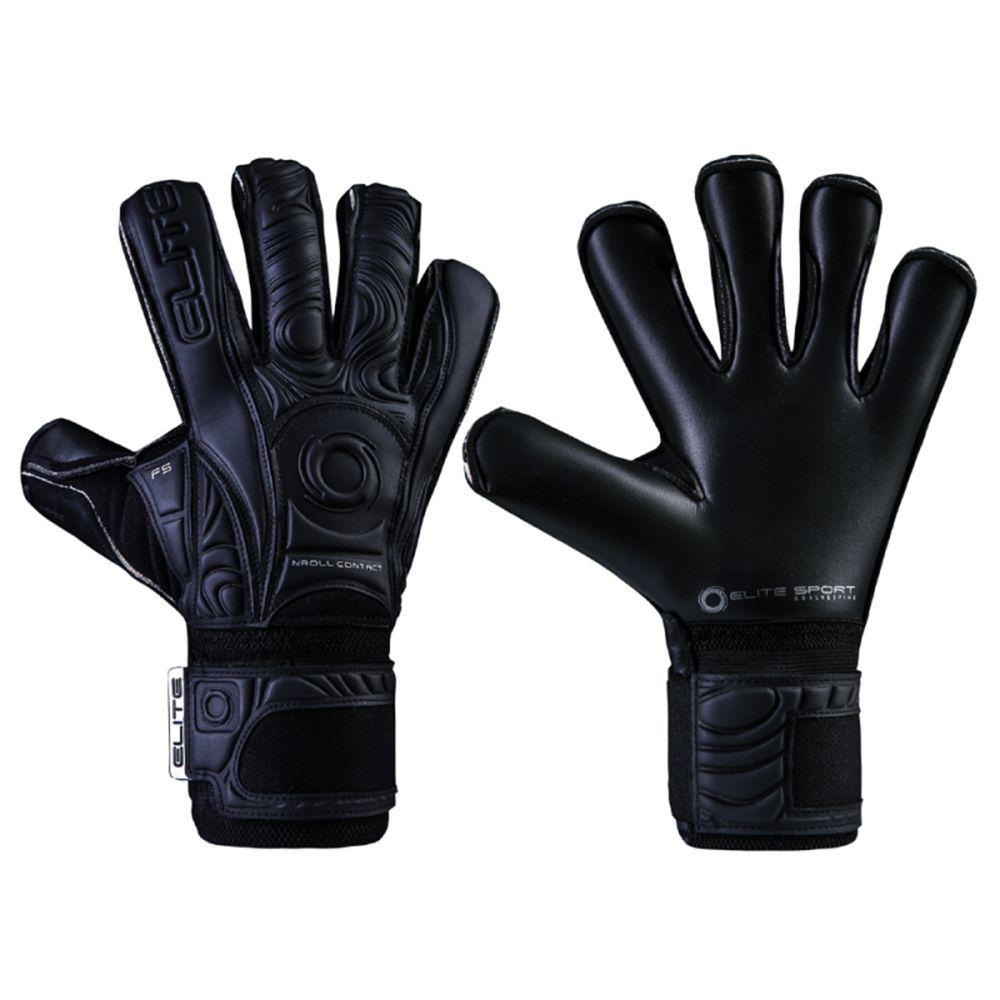 Elite Sport Keepershandschoenen Black Solo