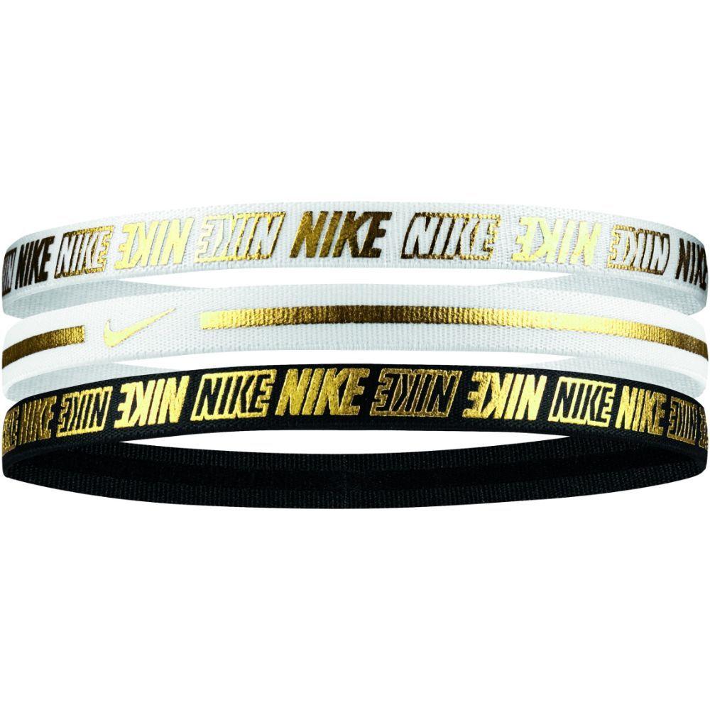 Nike Haarbanden 2.0 Wit Goud Zwart 3