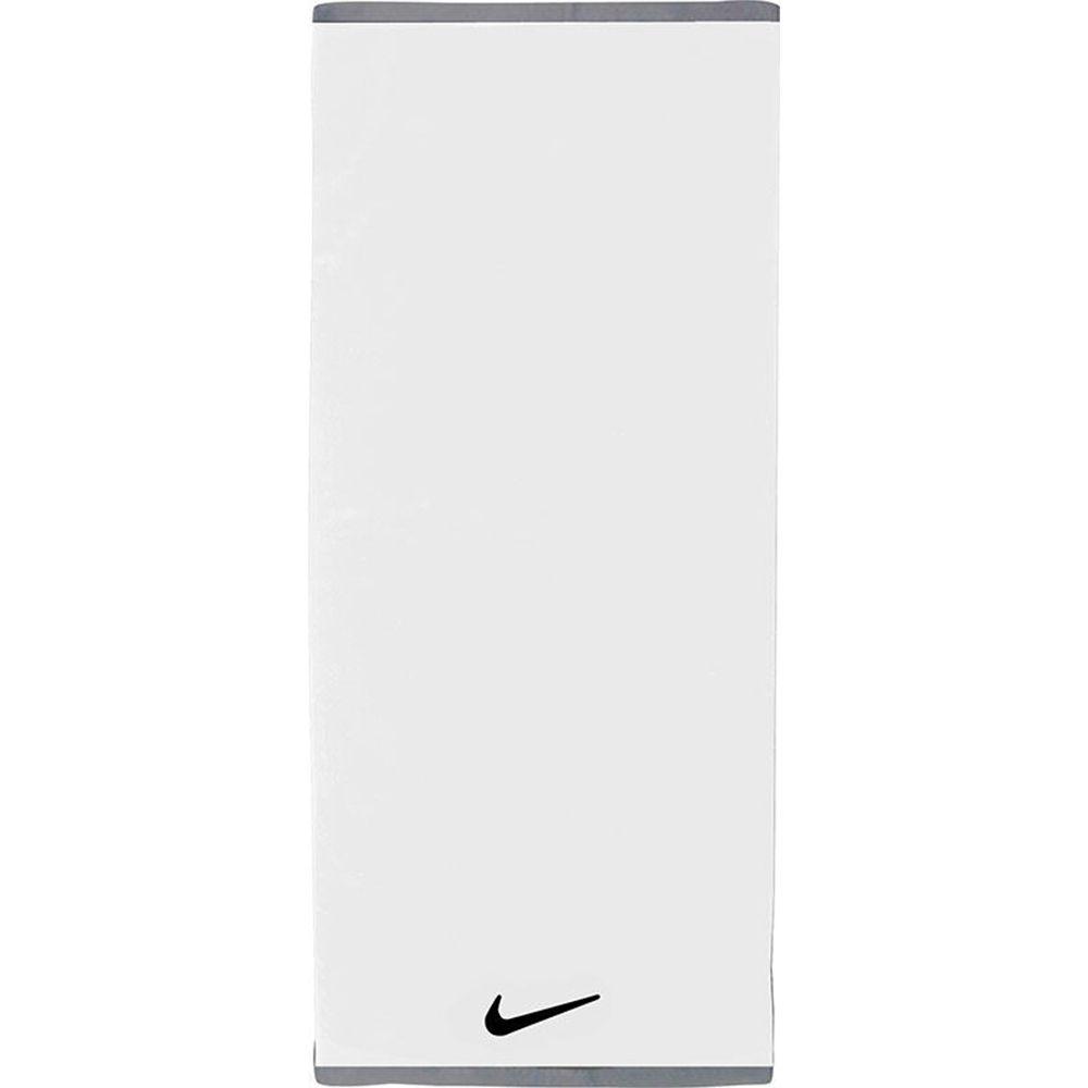 Nike Fundamental Handdoek Large Wit Zwart