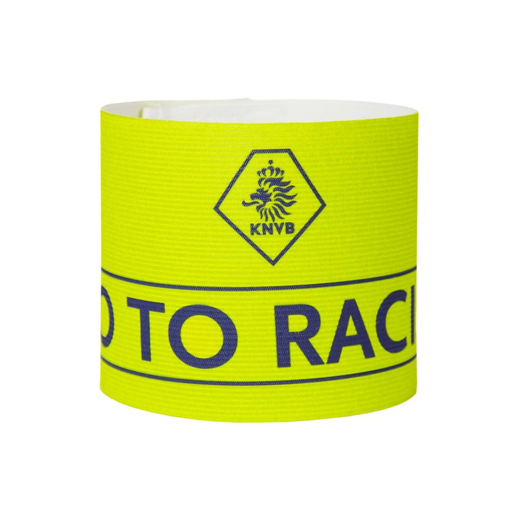 Aanvoerdersband KNVB NO Racism