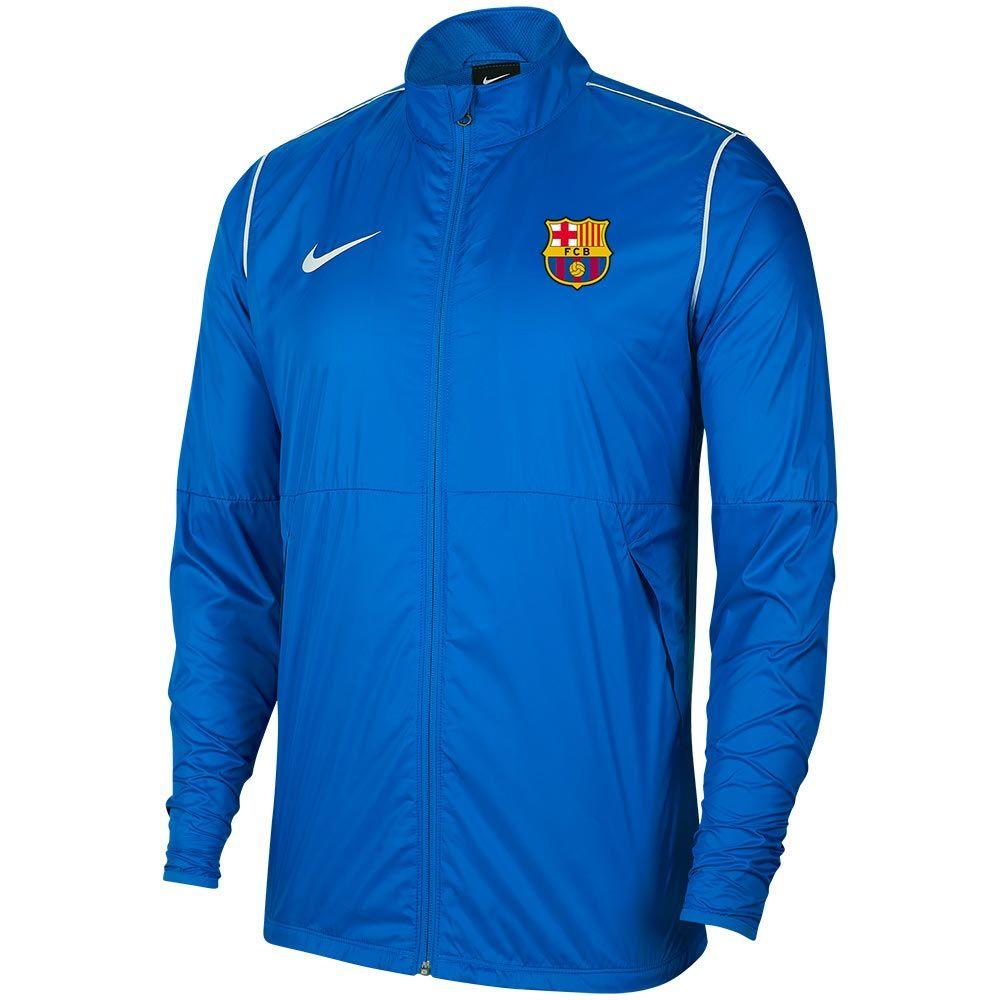 FCB Academy Regenjack Blauw