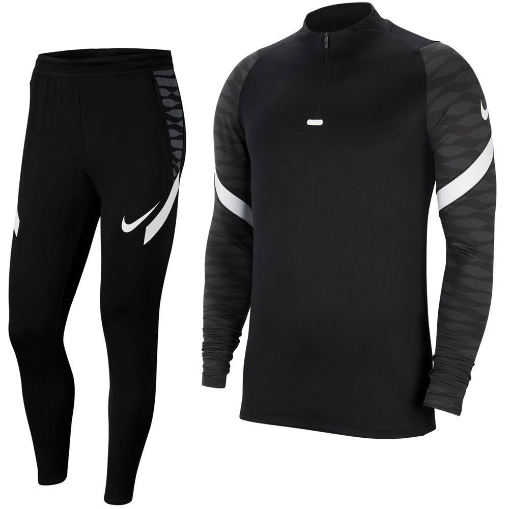Nike Strike 21 Trainingspak Zwart Grijs Wit