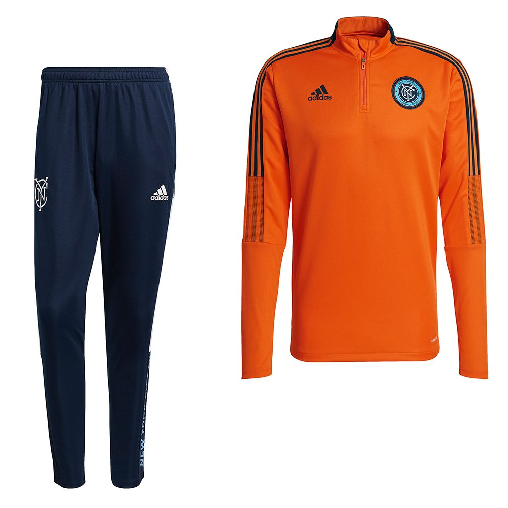 adidas New York City FC Trainingspak 2021-2022 Oranje