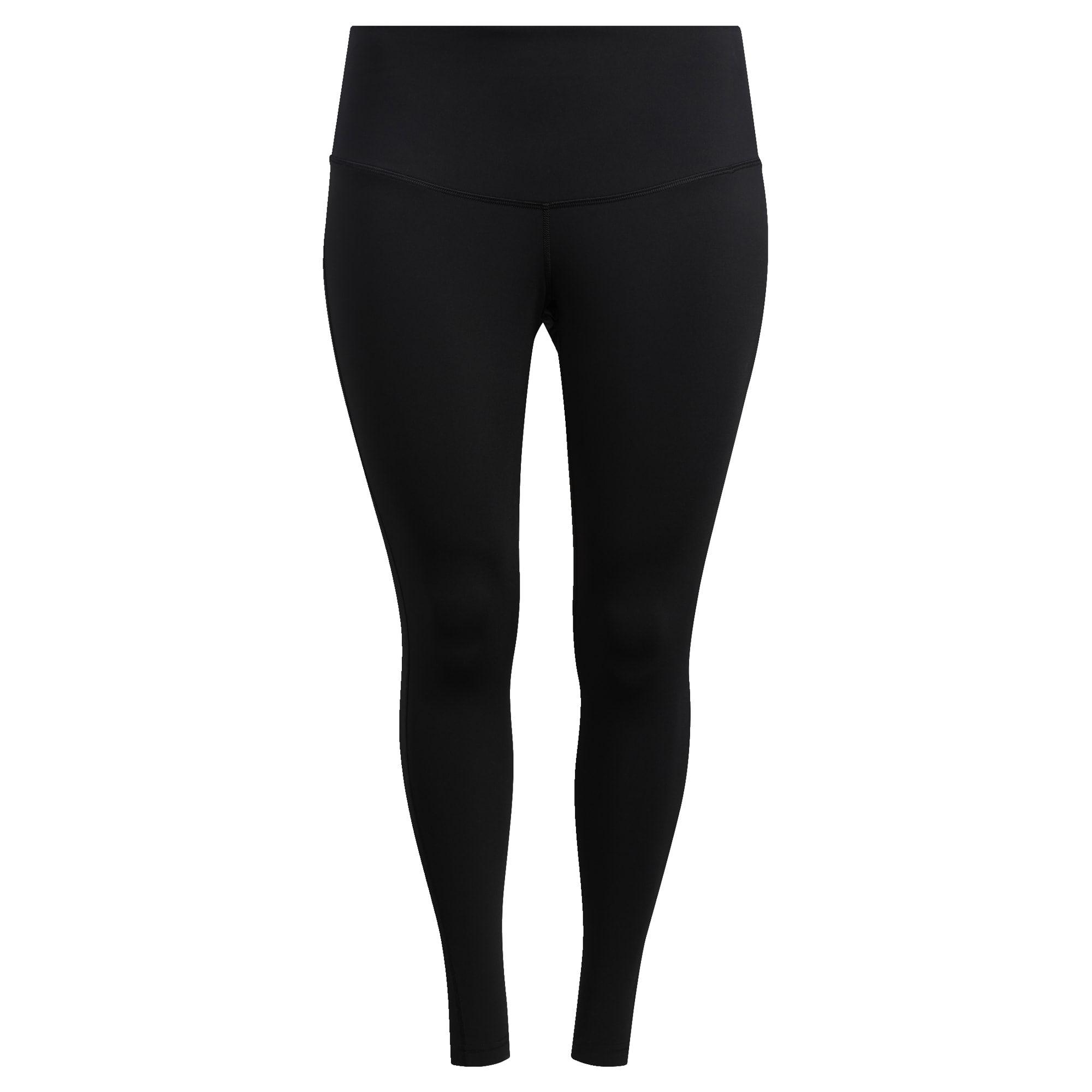 adidas Believe This Solid 7/8 Legging Dames Zwart (Grote Maat)