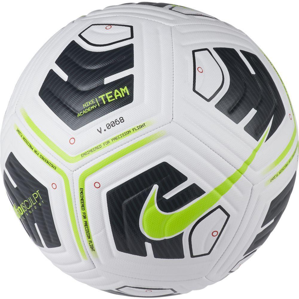 Nike Academy Team Voetbal Maat 5 Wit Zwart Groen