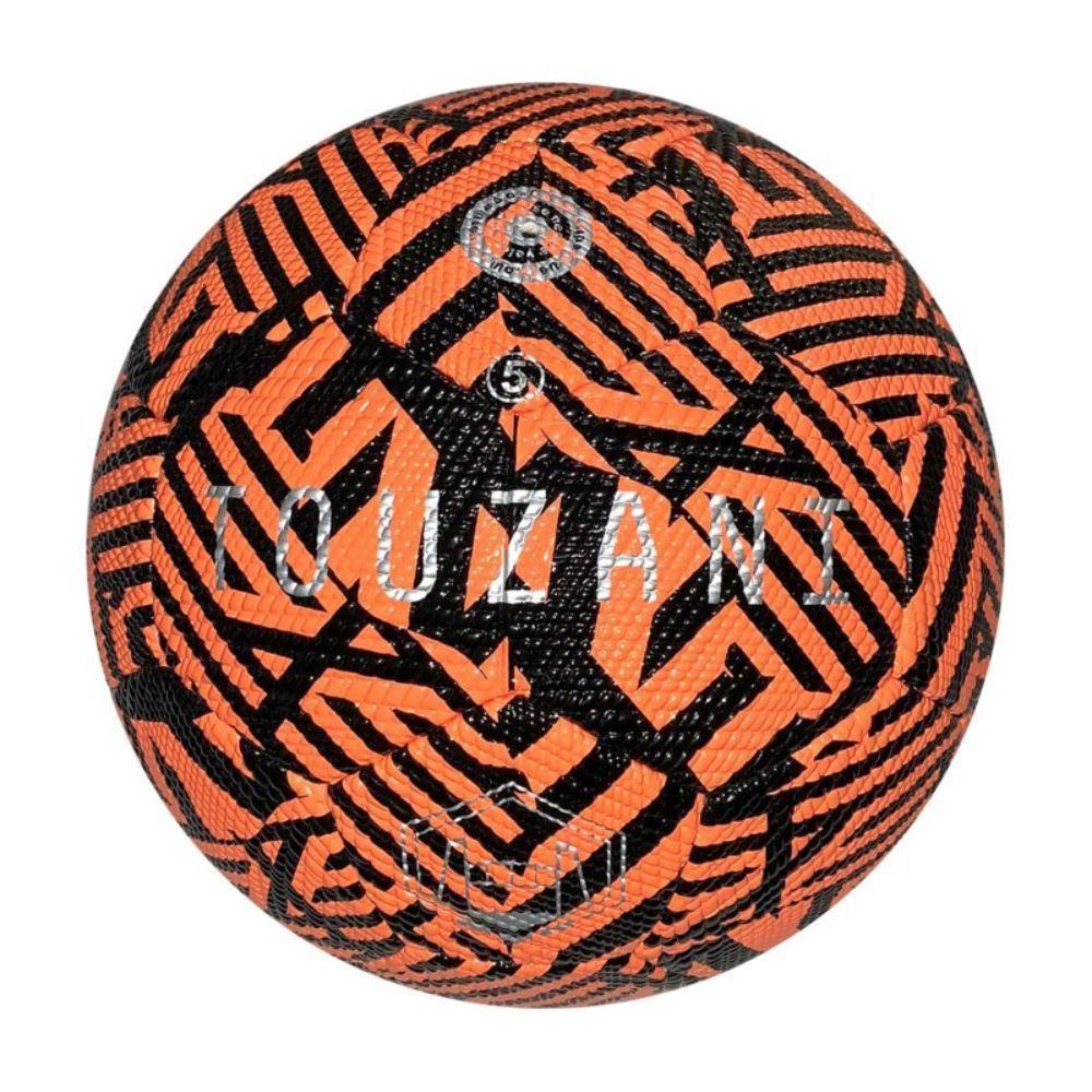 Touzani Straat Voetbal Replica Maat 5 Zwart Rood