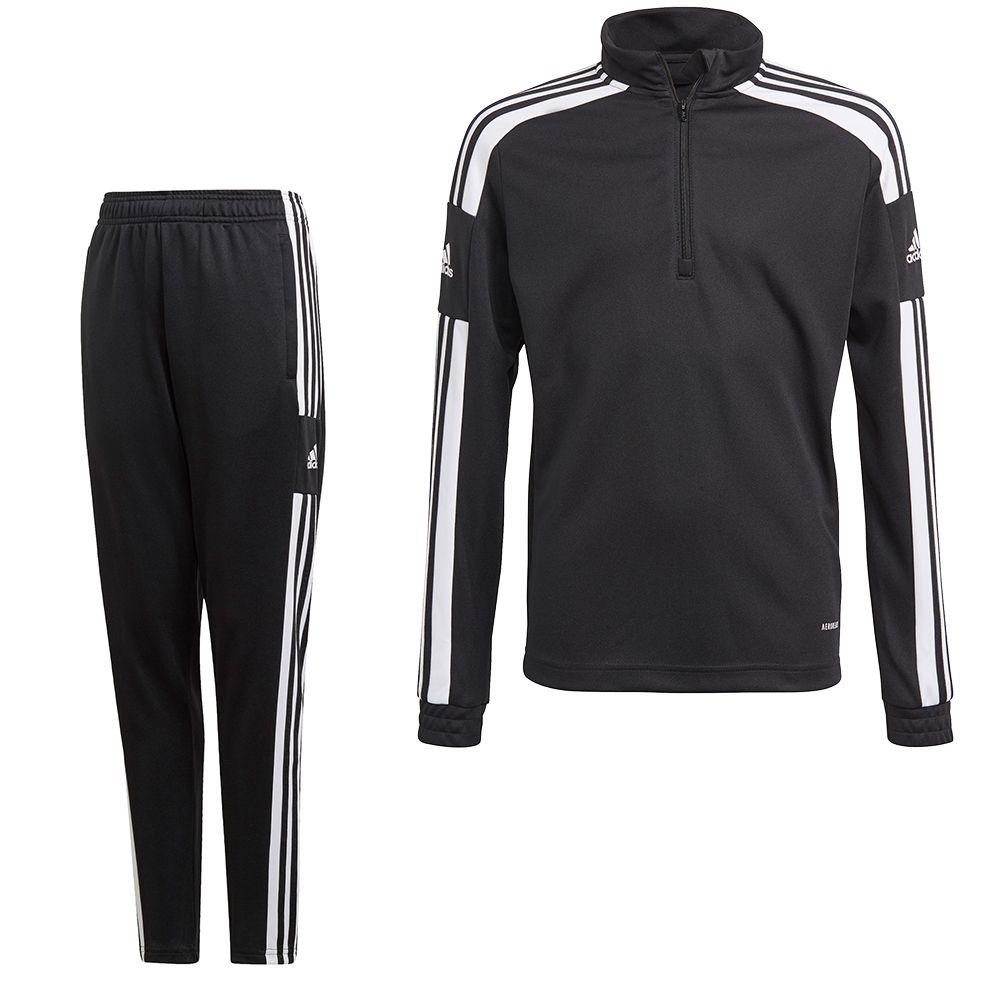 adidas Squadra 21 Trainingspak Kids Zwart Wit