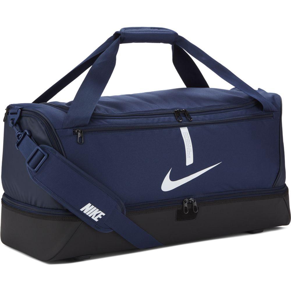 Nike Academy 21 Team Voetbaltas Large Schoenenvak Donkerblauw