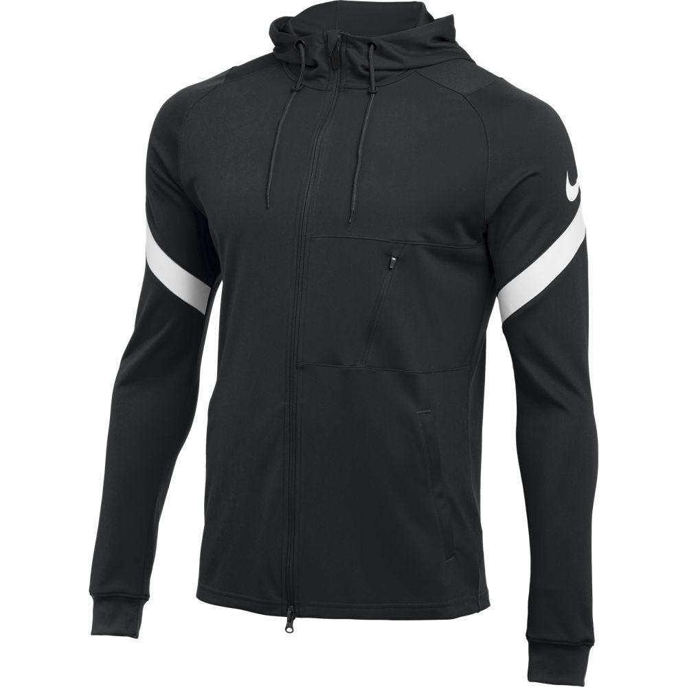 Nike Strike 21 FZ Hoodie Trainingsjack Dri-FIT Zwart