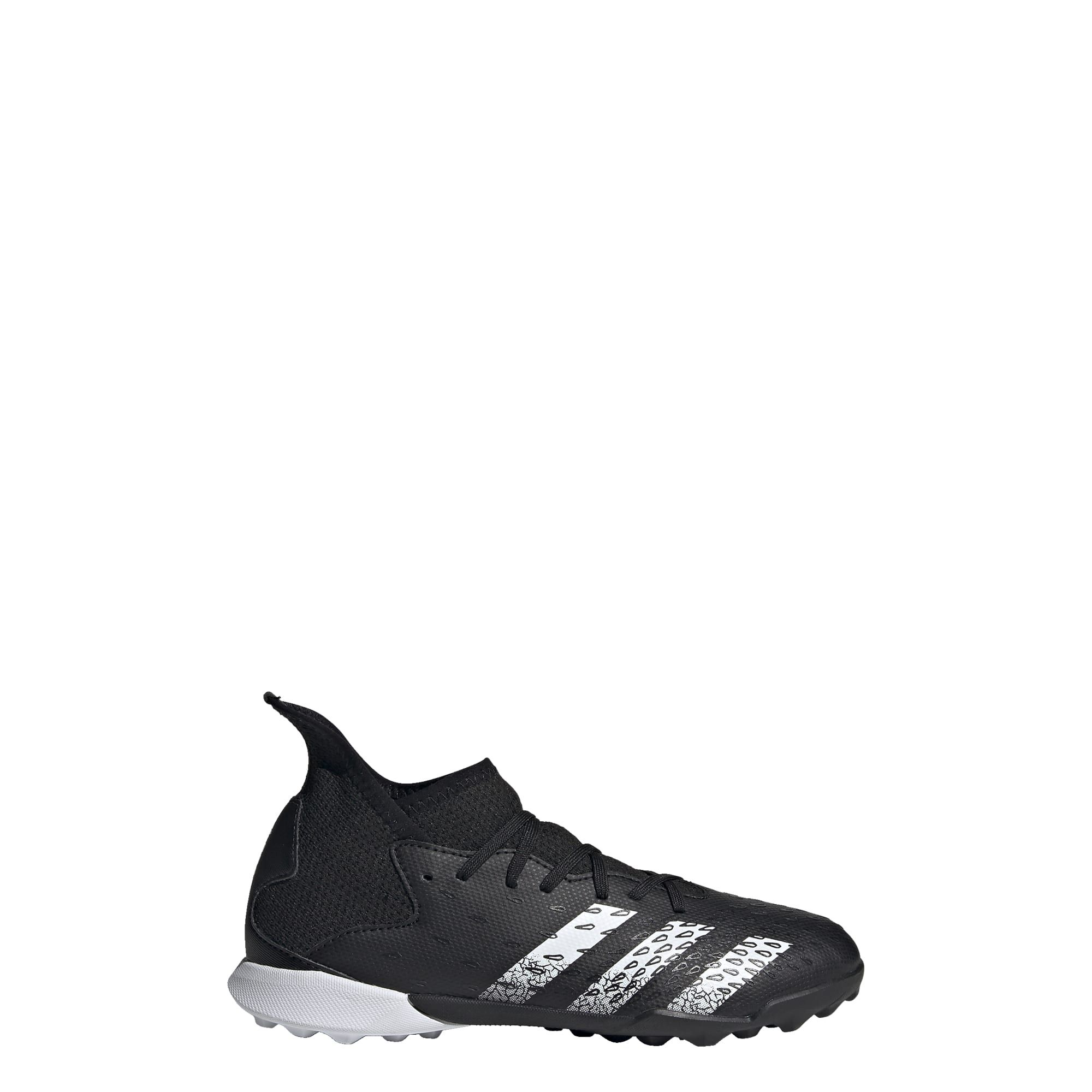 adidas Predator Freak.3 Turf Voetbalschoenen (TF) Kids Zwart Wit