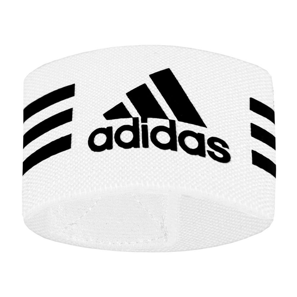 adidas Sokstoppers Logo Wit Zwart