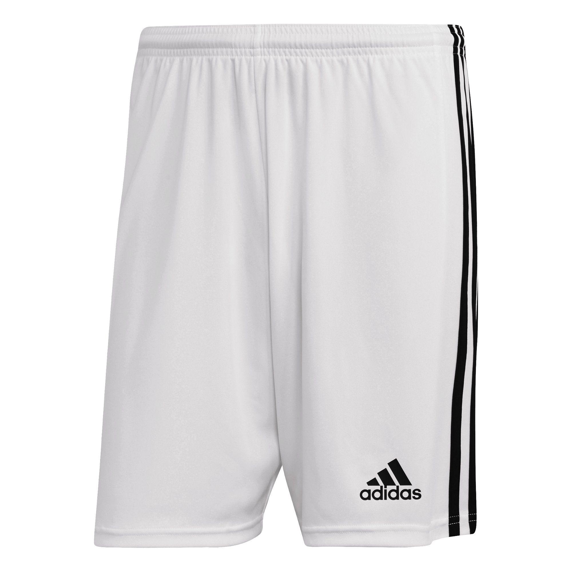 adidas Squadra 21 Voetbalbroekje Wit Zwart