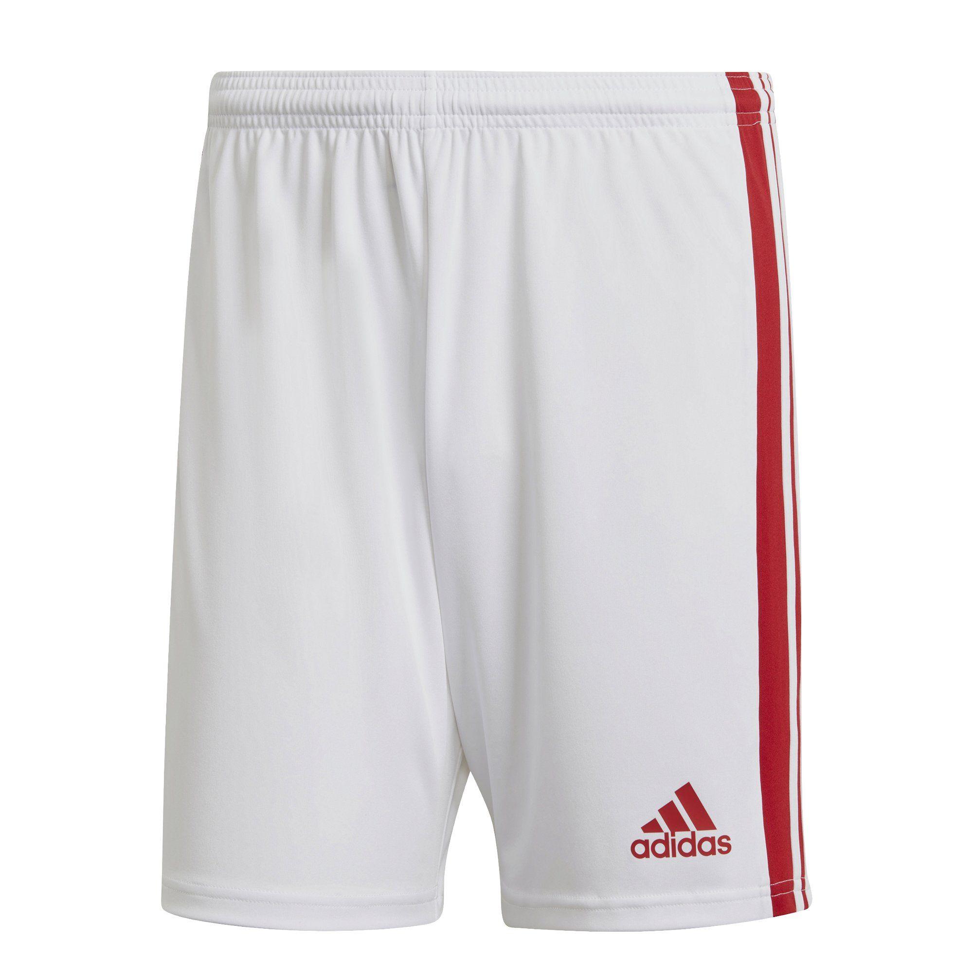 adidas Squadra 21 Voetbalbroekje Wit Rood