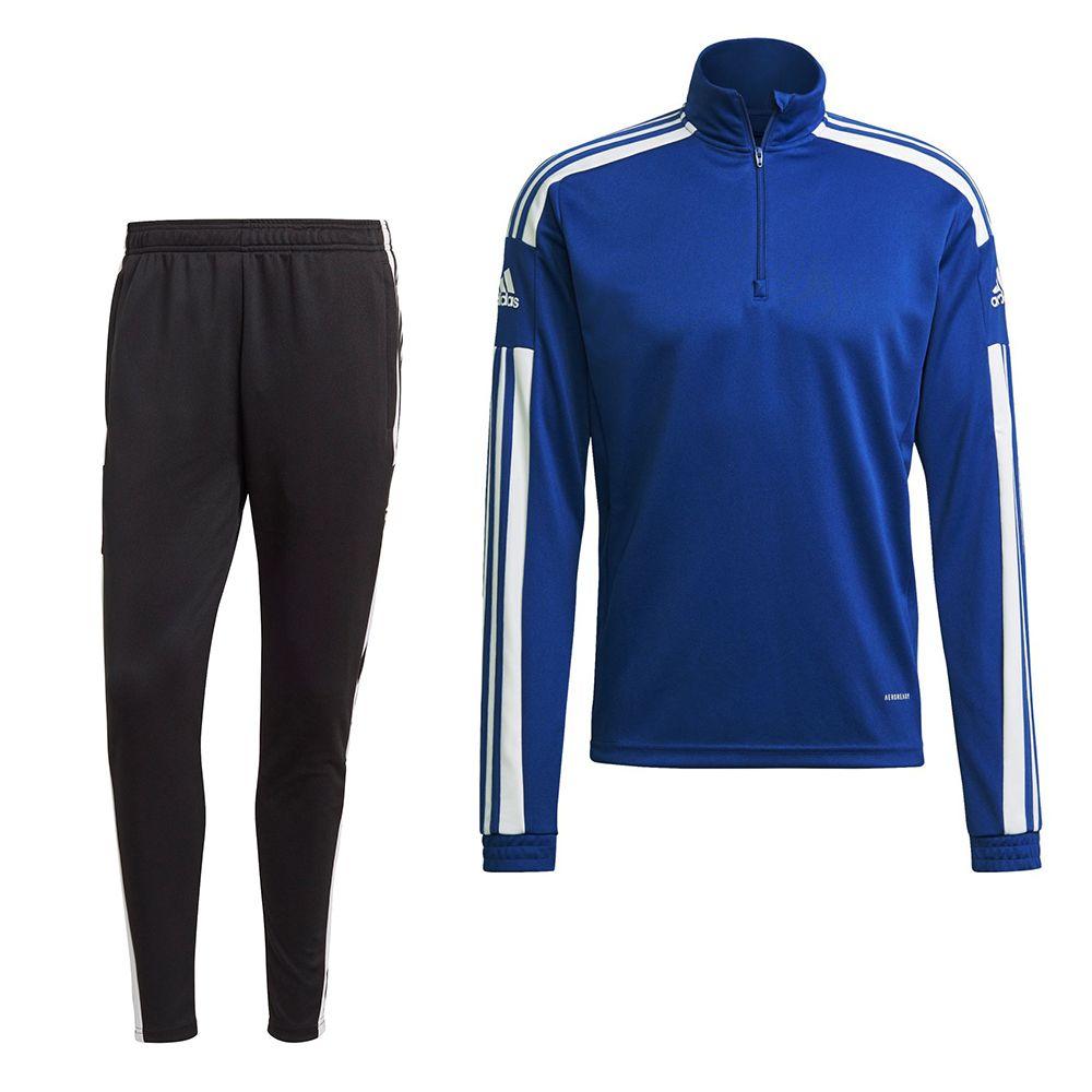 adidas Squadra 21 Trainingspak Kids Blauw Wit
