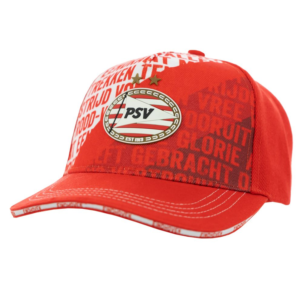PSV Cap Clublied rood SR