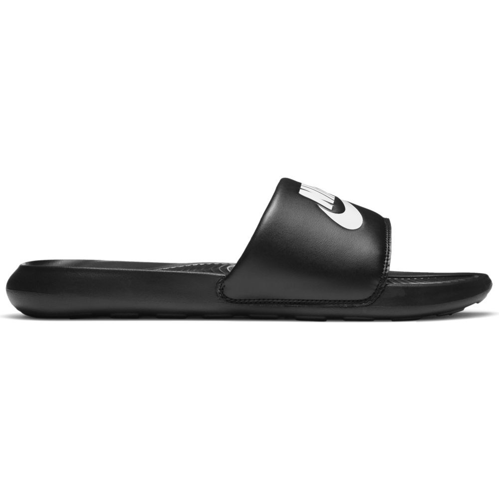 Nike Victori Slippers Zwart Wit