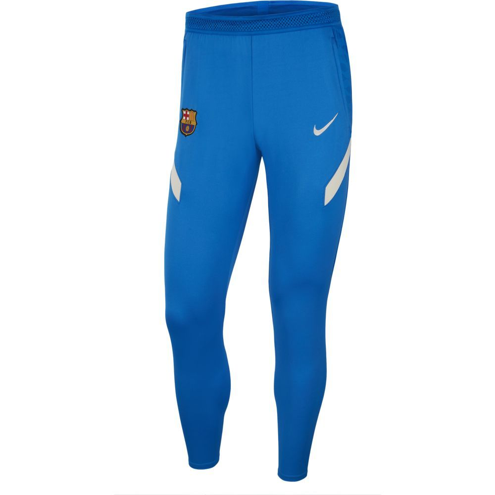 Nike FC Barcelona Strike Trainingsbroek 2021-2022 Blauw Lichtgrijs