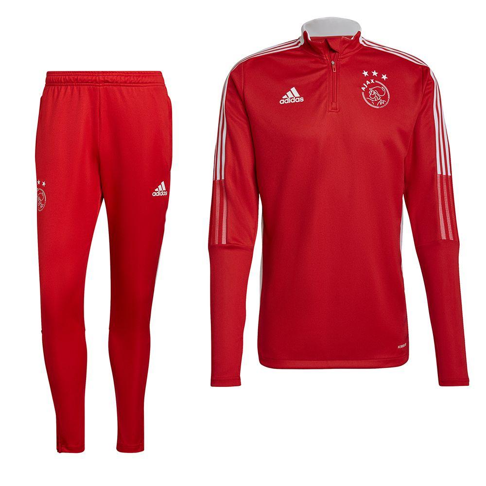 adidas Ajax Drill Trainingspak 2021-2022 Rood