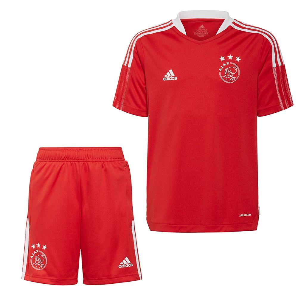 adidas Ajax Trainingsset 2021-2022 Kids Rood