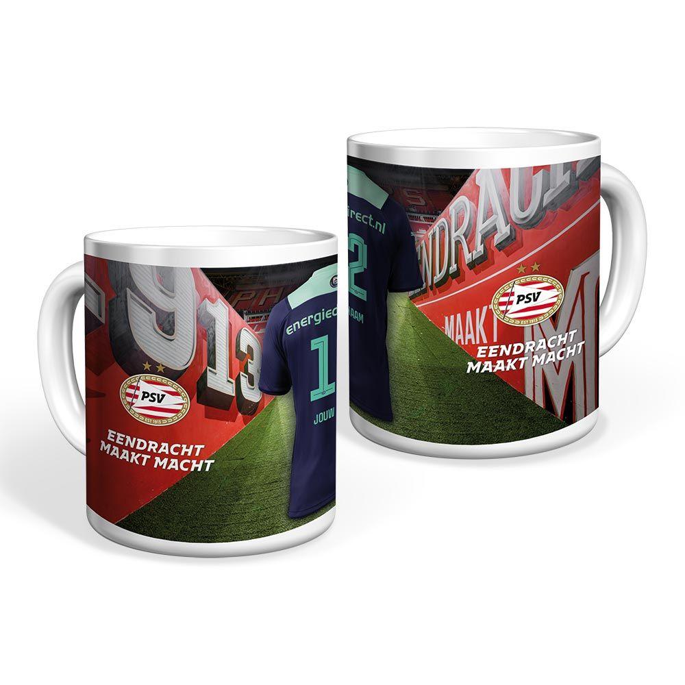 PSV Mok Uitshirt 21-22 Gepersonaliseerd