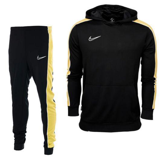 Nike Academy 21 Trainingspak Kids Zwart Goud Wit