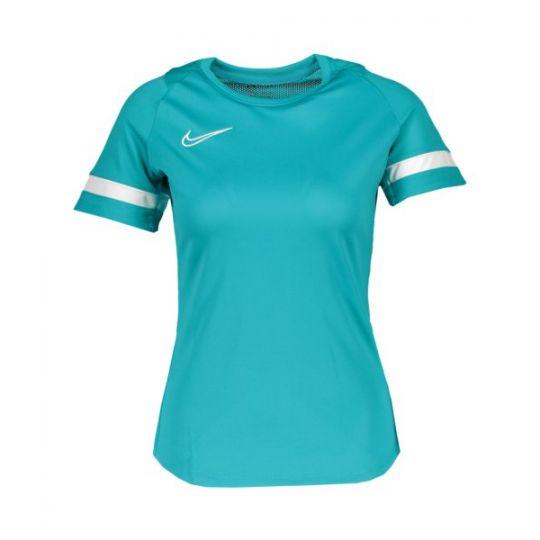 Nike Academy 21 Trainingsshirt Dames Turquoise Wit
