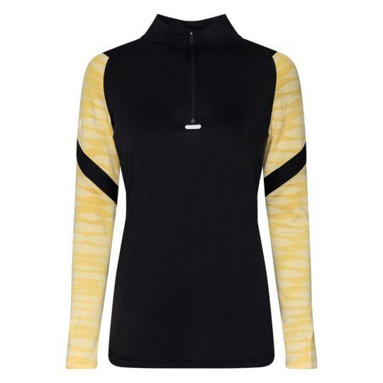 Nike Strike 21 Drill Trainingstrui Dames Zwart Goud Wit