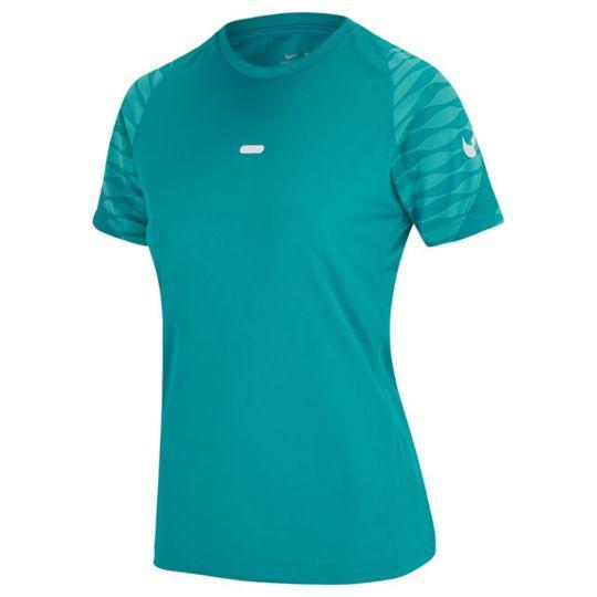 Nike Strike 21 Trainingsshirt Dames Blauw Turquoise Wit