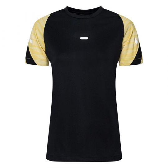 Nike Strike 21 Trainingsshirt Dames Zwart Goud Wit
