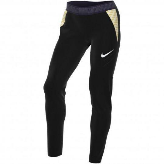 Nike Strike 21 Trainingsbroek Dames Zwart Goud Wit