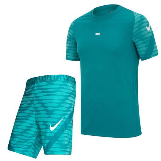 Nike Strike 21 Trainingsset Turquoise Wit