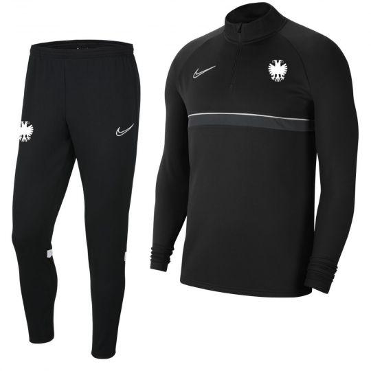 Nike Vitesse Drill Trainingspak 2021-2022 Zwart