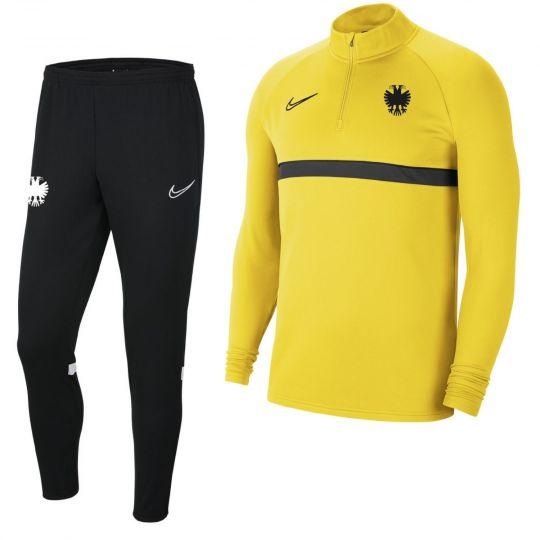 Nike Vitesse Drill Trainingspak 2021-2022 Geel