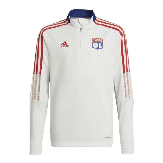 adidas Olympique Lyonnais Tiro Training Longsleeve Wit