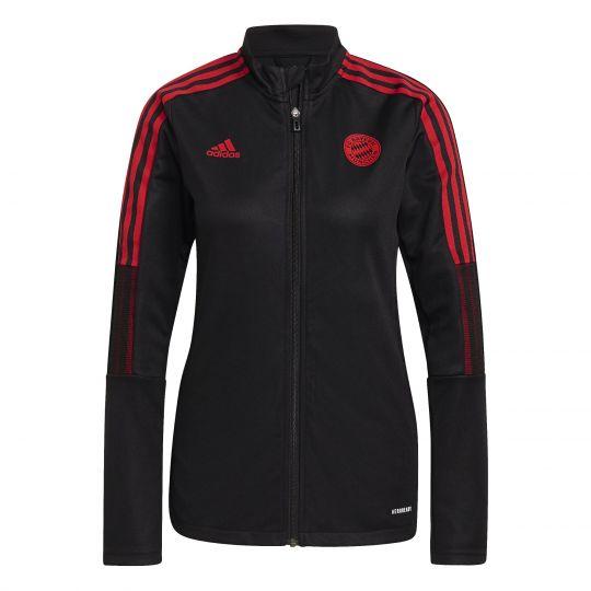 adidas Bayern Munchen Trainingsjack 2021-2022 Dames Zwart