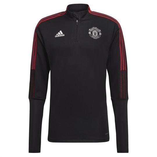 adidas Manchester United Trainingstrui 2021-2022 Zwart