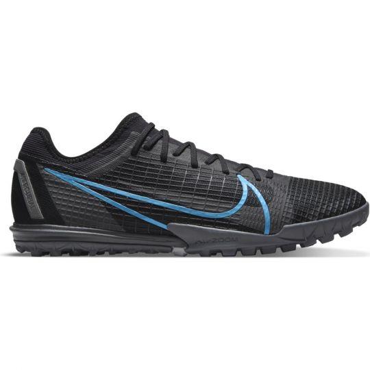 Nike Mercurial Vapor 14 Pro Turf Voetbalschoenen (TF) Zwart Donkergrijs
