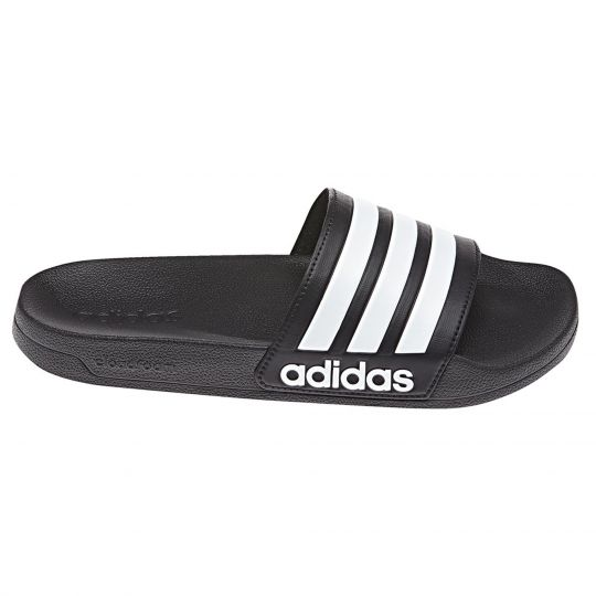adidas Adilette Cloudfoam Slipper Core Black Future White