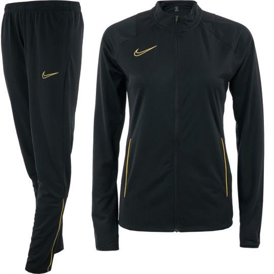 Nike Academy 21 Trainingspak Dames Zwart Goud