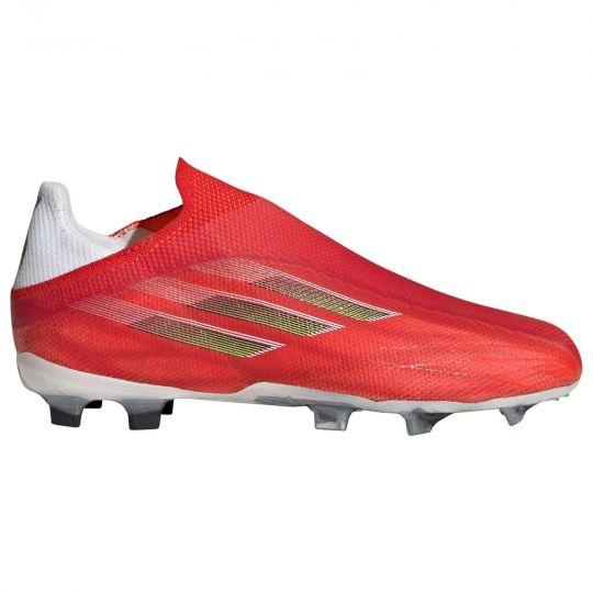 adidas X Speedflow+ Gras Voetbalschoenen (FG) Kids Rood Zwart Rood