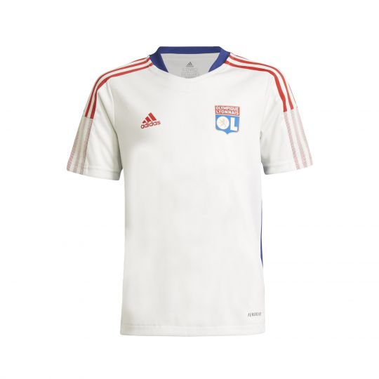 adidas Olympique Lyonnais Trainingsshirt 2021-2022 Kids Wit