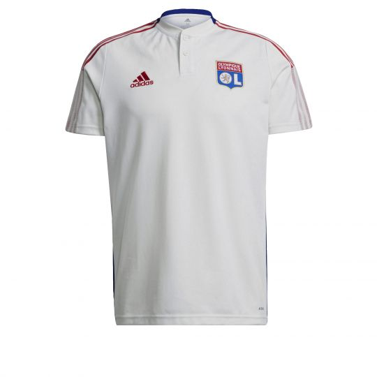 adidas Olympique Lyonnais Polo 2021-2022 Wit