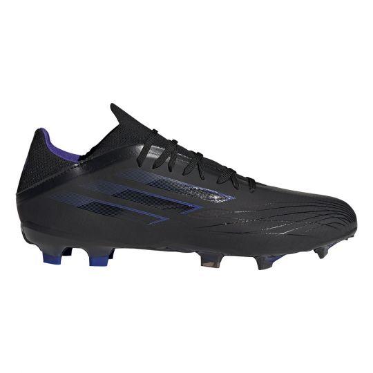 adidas X Speedflow.2 Gras Voetbalschoenen (FG) Zwart Blauw Geel