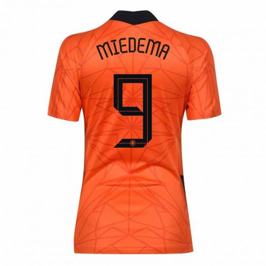 Nike Nederlands Elftal Miedema 9 Thuisshirt Dames
