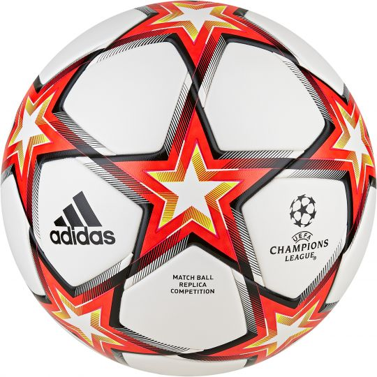 adidas Champions League Competition Voetbal Wit Rood Oranje