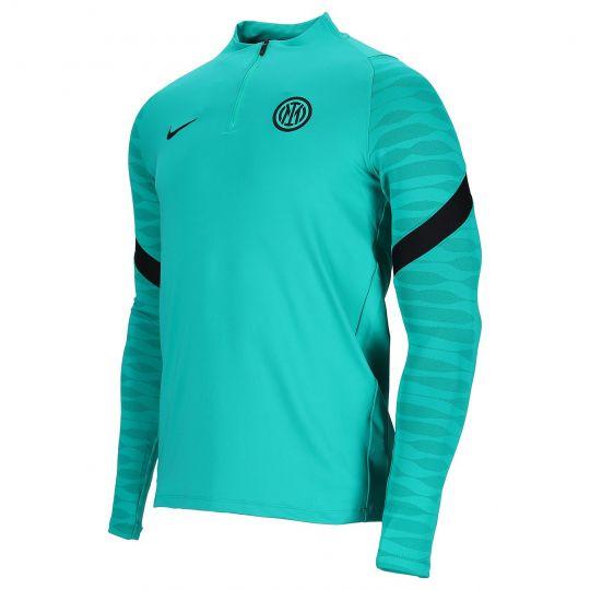 Nike Inter Milan Strike Trainingstrui 2021-2022 Turquoise Zwart